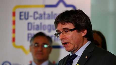 الرئيس السابق لإقليم كتالونيا كارليس بوتشيمون