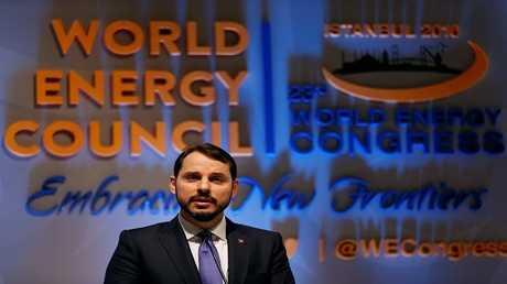 وزير المالية التركي، براءة البيرق
