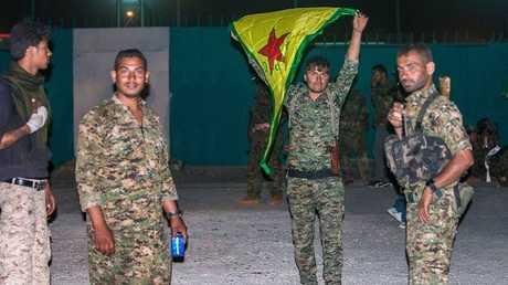مسلحون اكراد -ارشيف