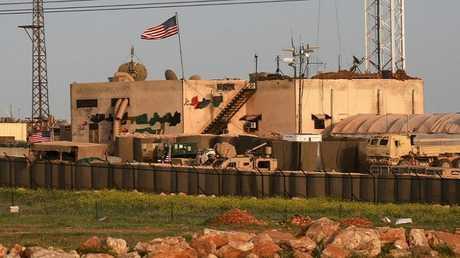 قاعدة أمريكية شمالي سوريا