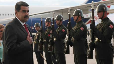 الرئيس الفنزويلي نيكولاس مادورو في اسطنبول