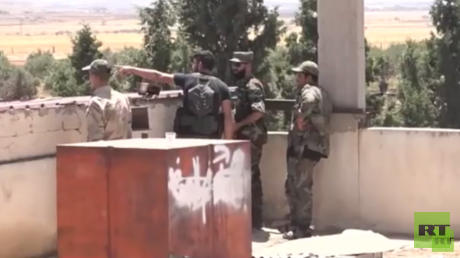 دمشق: إسرائيل تساند مسلحي