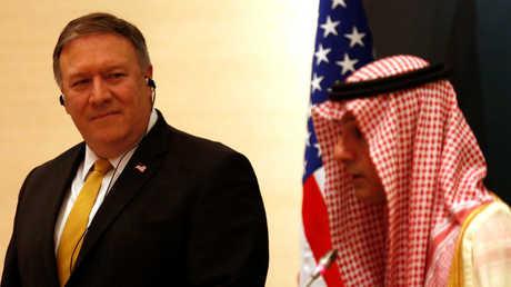 وزيرا الخارجية الأمريكي، مايك بومبيو، والسعودي، عادل الجبير - أرشيف