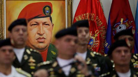 الرئيس الفنزويلي الراحل هوغو تشافيز