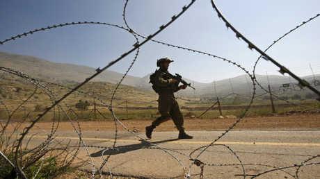 جندي إسرائيلي في مرتفعات الجولان - أرشيف