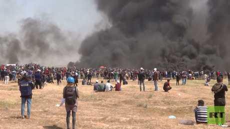 تواصل مسيرات العودة على حدود قطاع غزة