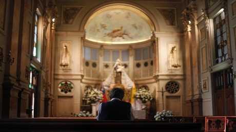 صورة ارشيفية لكنيسة كاثوليكية في تشيلي