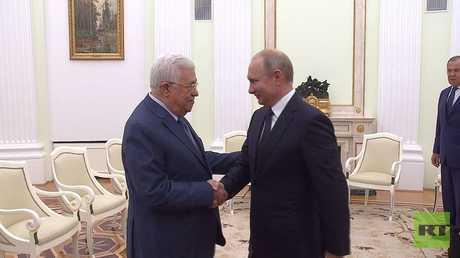بوتين يلتقي عباس في موسكو