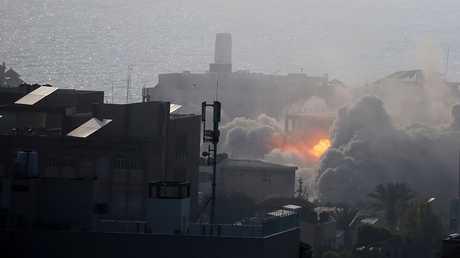 قصف على غزة 14 يوليو 2018