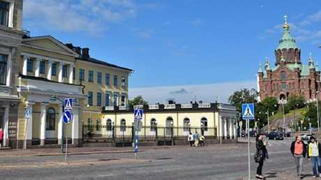 منظر من العاصمة الفنلندية