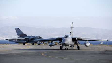 القاعدة العسكرية البريطانية، أكروتيري، في جزيرة قبرص