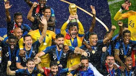 فرنسا بطلة لمونديال روسيا 2018
