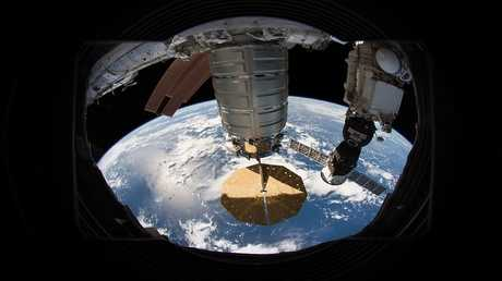 انفصال المركبة Cygnusعن المحطة الفضائية الدولية
