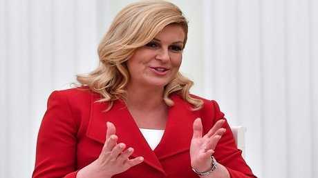 رئيسة كرواتيا  كوليندا غرابار-كيتاروفيتش