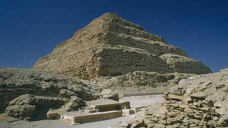 اكتشافات جديدة في منطقة سقارة الأثرية بمصر