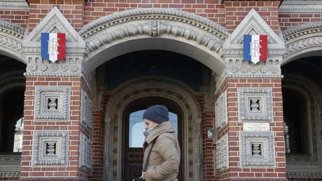 السفارة الفرنسية في موسكو