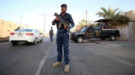 عناصر من القوات العراقية في البصرة *  الأحد 15 يوليو 2018 *