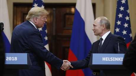 لقاء الرئيسين بوتين وترامب