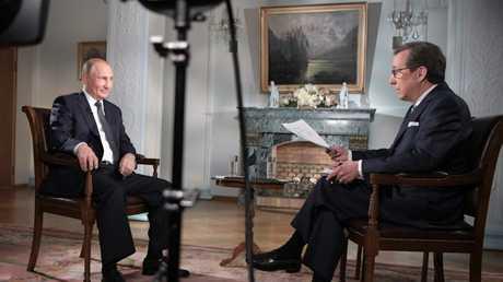 """مقابلة الرئيس الروسي فلاديمير بوتين مع قناة """"Fox News"""" الأمريكية"""