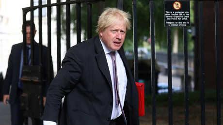 وزير الخارجية البريطاني السابق بوريس جونسون