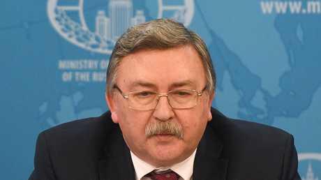 مندوب روسيا الدائم لدى المنظمات الدولية في فيينا ميخائيل أوليانوف، أرشيف