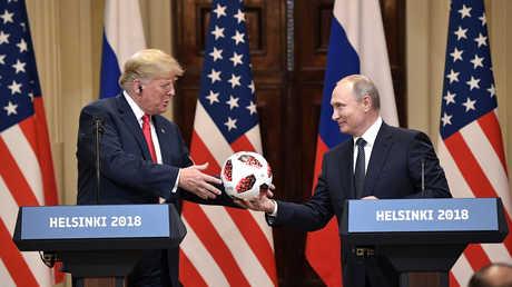 لقاء بين بوتين وترامب في هلسنكي