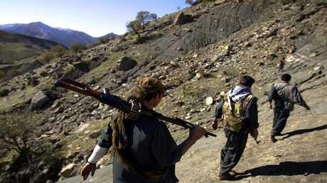 مقاتلون أكراد بشمال العراق (صورة من الأرشيف)