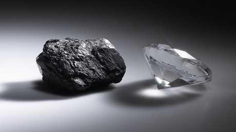 اكتشاف يدحض ندرة الماس!