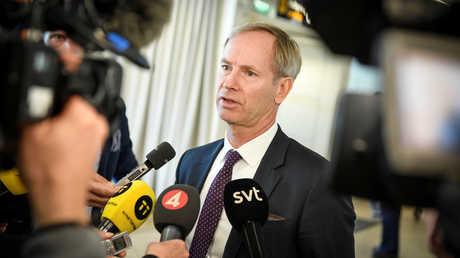المندوب الدائم للسويد لدى الأمم المتحدة، أولوف سكوغ