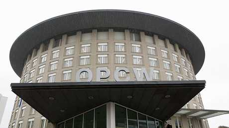مقر منظمة حظر الأسلحة الكيميائية في لاهاي