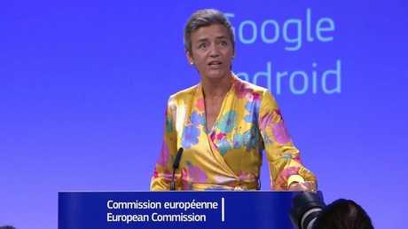 غرامة أوروبية قياسية على غوغل