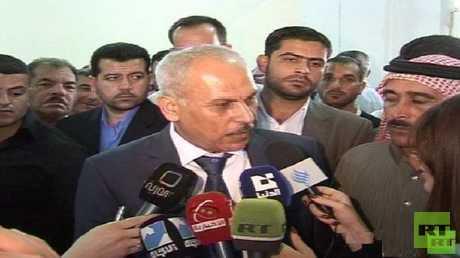 أحمد منير مستشار وزير الدولة لشؤون المصالحة الوطنية في سوريا (صورة أرشيفية)