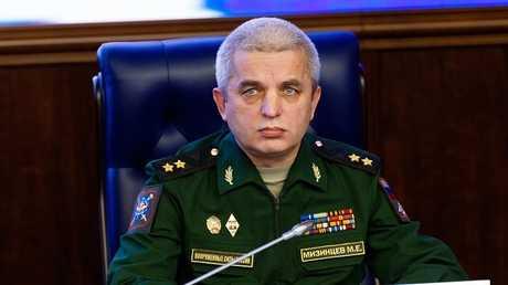 رئيس المركز الوطني لإدارة شؤون الدفاع، الفريق أول ميخائيل ميزينتسيف