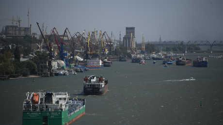 ميناء روستوف على الدون الروسي (صورة من الأرشيف)