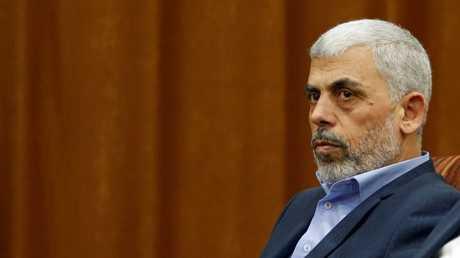 رئيس المكتب السياسي لحركة حماس يحيى السنوار