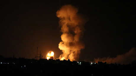 الغارات الإسرائيلية على غزة