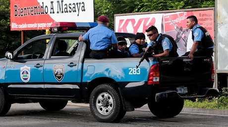 دورية لشرطة نيكاراغوا