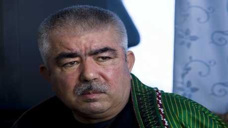 نائب الرئيس الأفغاني الجنرال عبد الرشيد دوستم