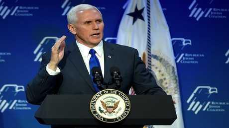مايك بينس نائب الرئيس الأمريكي