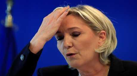 المعارضة الفرنسية مارين لوبان