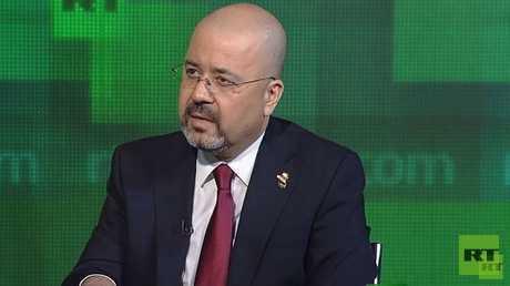السفير العراقي لدى موسكو حيدر منصور العذاري (صورة أرشيفية)