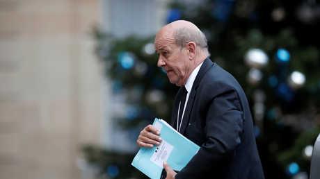 وزير الخارجية الفرنسي جان إيف لودريان - أرشيف