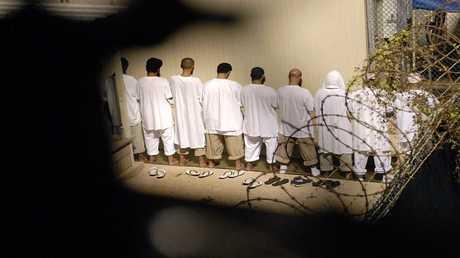 صورة ارشيفية من سجن  غوانتانامو الأمريكي في كوبا،