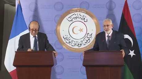 لودريان في ليبيا لدعم أجراء الانتخابات