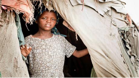فتاة صومالية