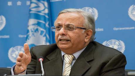 المندوب السعودي لدى الأمم المتحدة عبد الله المعلمي
