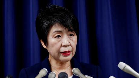 وزيرة العدل اليابانية يوكو كاميكاوا