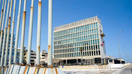 السفارة الأمريكية في هافانا، كوبا