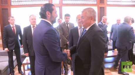 المبعوث الخاص للرئيس الروسي إلى سوريا يبحث في بيروت قضية عودة لاجئي سوريا