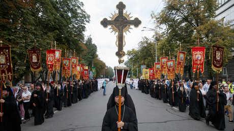 مسيرة الصليب الكبيرة في كييف، أوكرانيا، 27 يوليو 2018